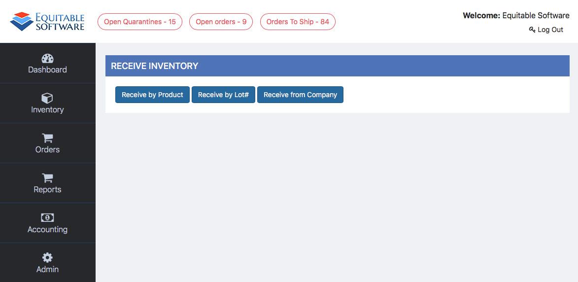 Receiving Inventory